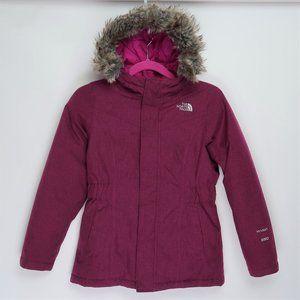 North Face 550 HyVent Girls Winter Coat M 10/12